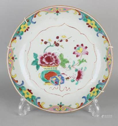 Large 18th century Chinese porcelain Family Rose