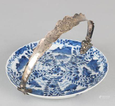 18th Century Chinese dish with four characters of soil