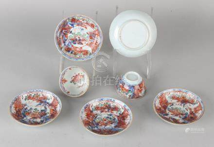 Lot of Chinese Amsterdam porcelain. Circa 1800.