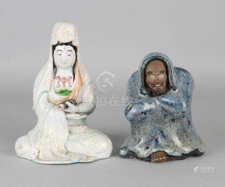 Japan twice. One porcelain Quan Yin, first half of the