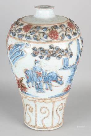 Big old / antique? Chinese porcelain baluster-shaped