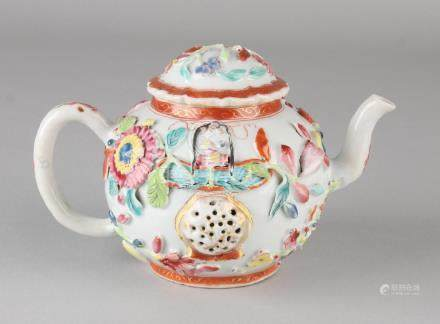 18th Century Chinese porcelain Family Rose drawbar with