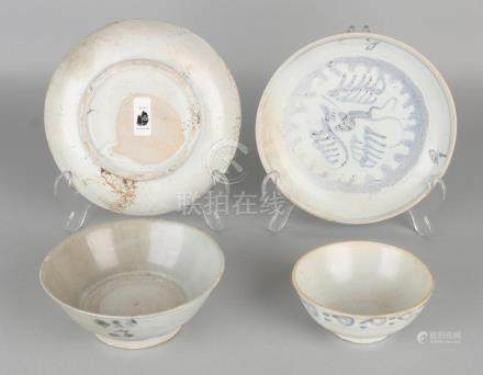 Four times Chinese porcelain. The Tek Sing Cargo 1822.