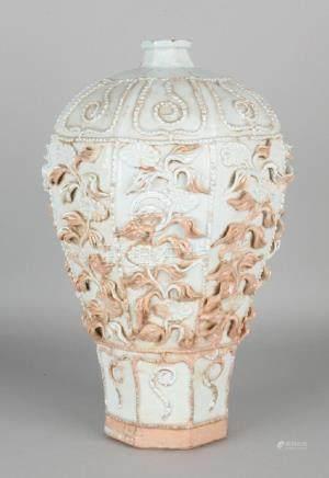 Old / antique Chinese porcelain baluster-shaped vase