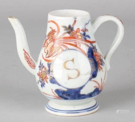 18th Century Chinese Imari porcelain jug with monogram