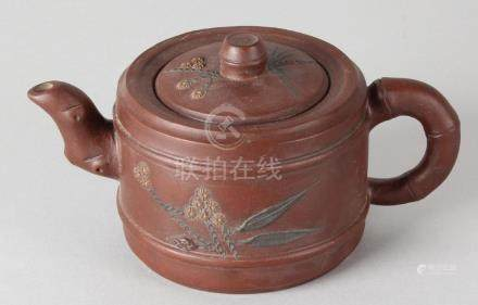Antique Chinese Yixing teapot, ca. 1900 or older.