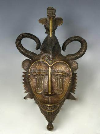 Senufo Bronze Mask