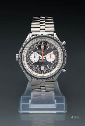 Breitling Navitimer Chrono-Matic, Ref. 1806. Automatic movement; hour, minute, second, chronograph,