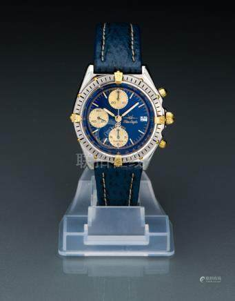 "Breitling Chronograph ""Blue Angels"", Ref. B13048. Automatic movement; hour, minute, second, chronogr"