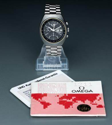 Omega Speedmaster Mark 4.5, Ref. 1760012. Automatic movement, Cal. 1045; hour, minute, second, chron