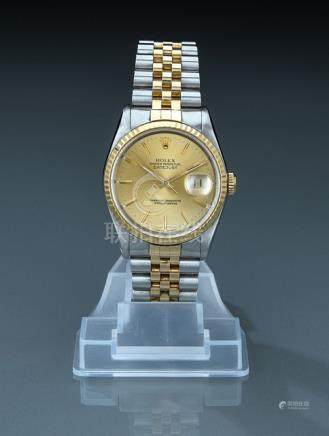 Rolex Datejust, ref. 16233. Switzerland, c. 1990. Automatic movement, caliber 3135, adj. 5; 31 jewel