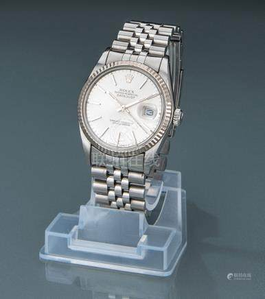 Rolex Datejust, ref. 16014. Switzerland, c. 1985. Automatic movement, caliber 3035, adj. 5; 27 jewel
