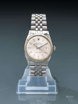 Rolex Datejust, stainless steel, ref. 1601. Switzerland, c. 1971. Movement: automatic movement, cali