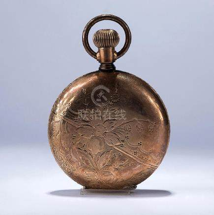 A 18K GOLD POCKET WATCH