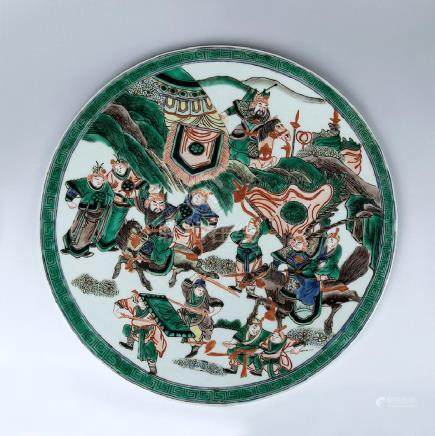 CHINESE LARGE CIRCULAR PLAQUE