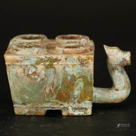 CHINESE JADE CARVED CEREMONIAL WARE