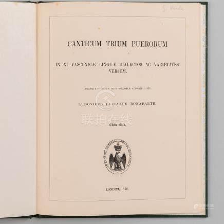 Canticum Trium Puerorum in XI Vasconicae Linguae Dialectos ac Varietates Versum.