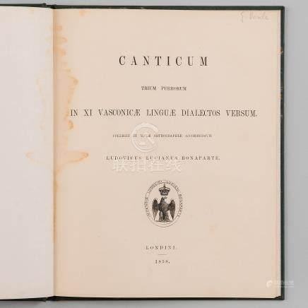 Canticum Trium puerorum in XI Vasconicae Linguae Dialectos Versum. Collegit et novae orthographie accommodavit.