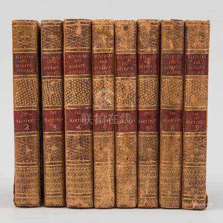 Histoire des Oiseaux Peints dans tous leurs aspects Paris, 1790.