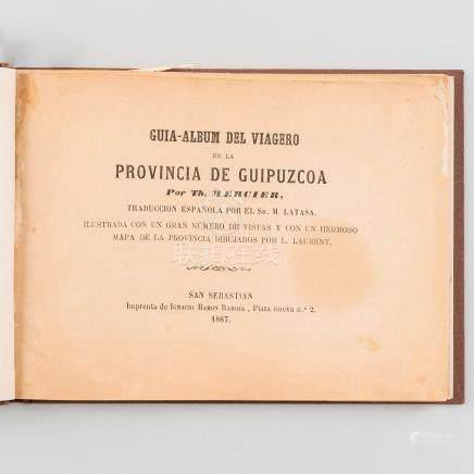 Guía-Álbum del Viajero en la provincia de Guipúzcoa por Th. Mercier.