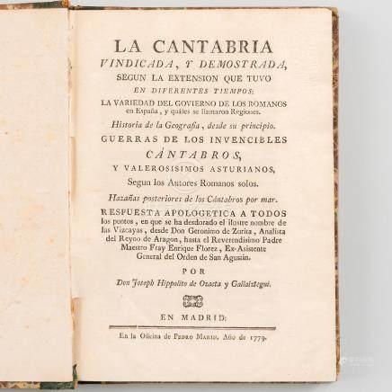 La Cantabria Vindicada y demostrada, según la Extensión que tuvo en diferentes tiempos:
