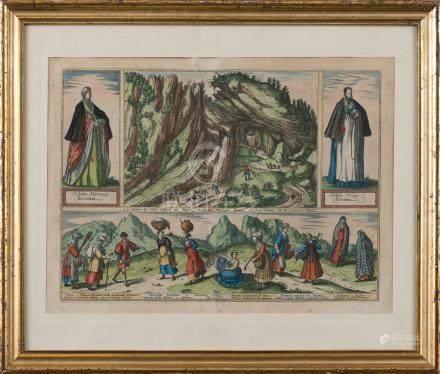"""""""La Sierra de Sant Adrian en Biscaia"""" C. 1567"""