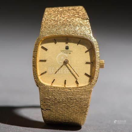 Reloj de señora marca Universal Geneve en oro amarillo de 18 Kt.