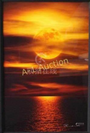 "Peter Lik, ""Moonlight Reflection"""