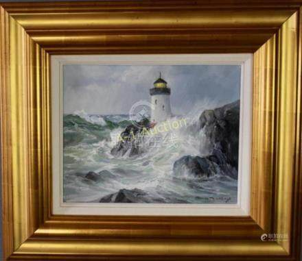 Charles Vickery, 1913-1998, Oil on Canvas