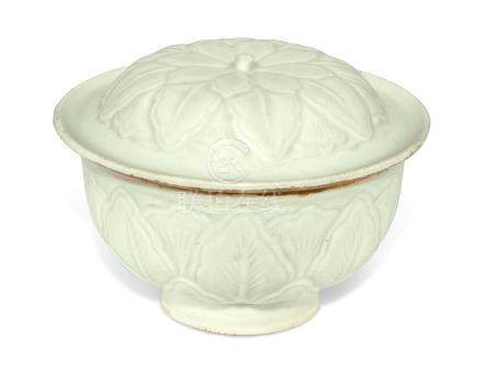 A QINGBAI BOWL AND COVER