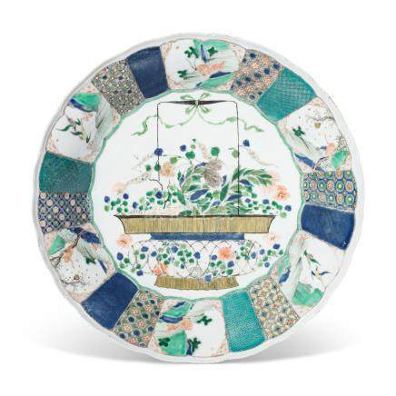 AN UNUSUAL FAMILLE VERTE DISH