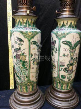 Three Colors Vase From Middle Kangxi Dynasty