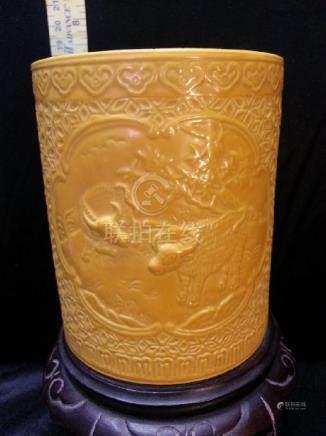 Qing  dynasty Porcelain port