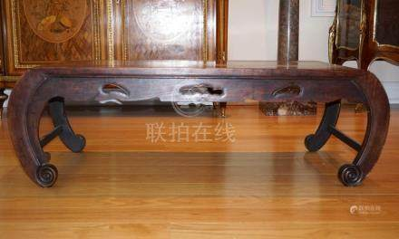A Chinese Huali Low Table