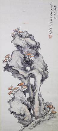 WU HUFAN Chinese 1894-1968 Watercolor on Paper