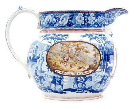 A large 19th Century water jug,