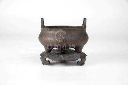 Ming, Bronze Censer