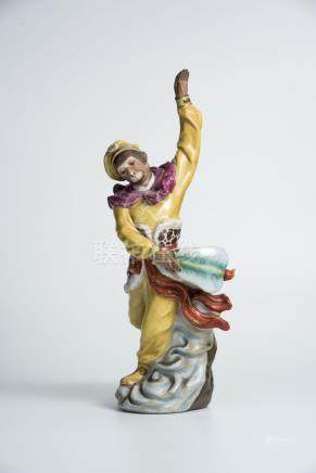 orcelain Figure of Monkey King