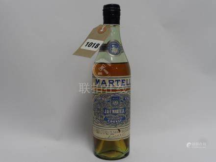 An old half bottle of J&F Martell Very Old Pale Cognac with spring cap, circa 1950's.