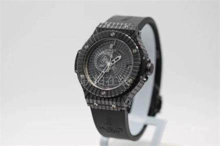 Mens Hublot Caviar Gents Watch. Boxed with paperwork