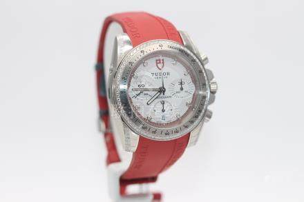 Tudor Diamond Chronograph Ladies Watch 20310