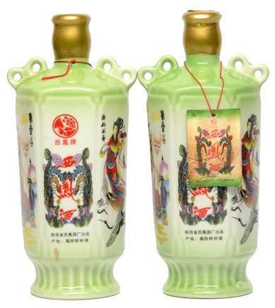 1986年 西鳳酒二瓶 500ML (全新)