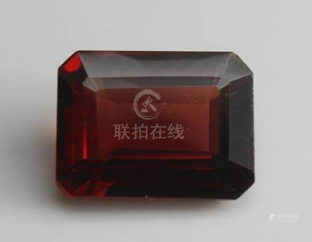 1.77 ct Pyrope Almandite Garnet with IGI Certtificate