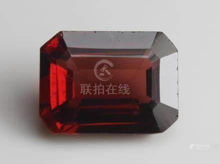 1.73 ct Pyrope Almandite Garnet with IGI Certtificate