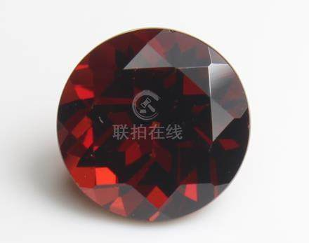 2.42 ct Pyrope Almandite Garnet with IGI Certtificate