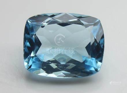 3.40 Ct Blue Topaz With IGI Certificate
