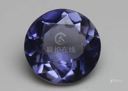 1.75 Ct Iolite With IGI Certificate
