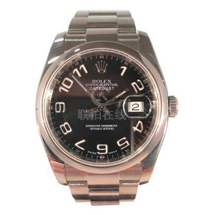 Rolex Stainless Steel Date Just