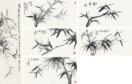 書畫六張 李福泉
