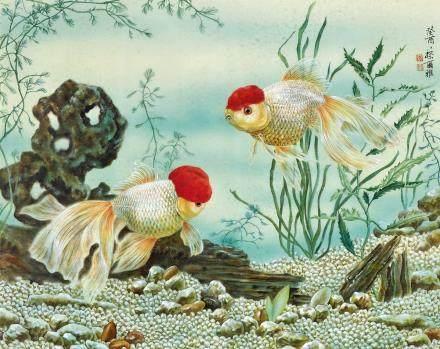 金魚圖 蔡爾雅